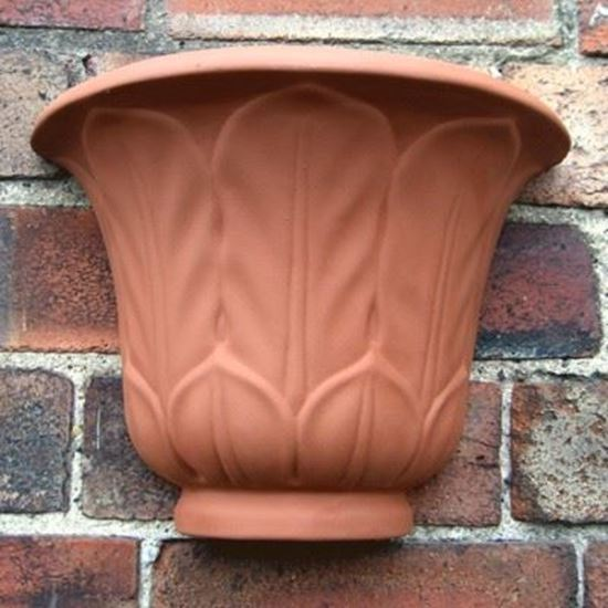 Picture of Acanthus Leaf Wall Planters
