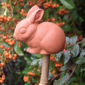 Picture of Bamboo Cane Topper | Rabbit Design
