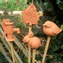 Picture of Bamboo Cane Topper   Mixed Set
