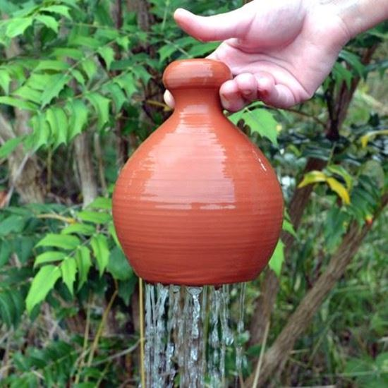 Picture of Terracotta Thumb Pot Waterer