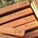Picture of Terracotta  Herb Markers Set of 8