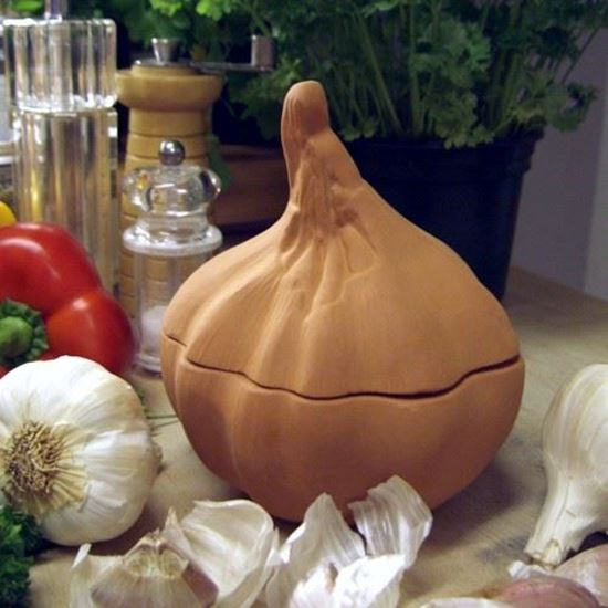 Picture of Glazed & Unglazed Garlic Bakers