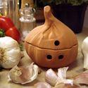 Picture of Glazed & Unglazed Garlic Cellars