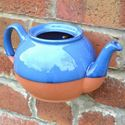 Picture of Teapot Wall Pot Blue