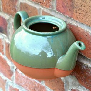 Picture of Teapot Wall Pot Green