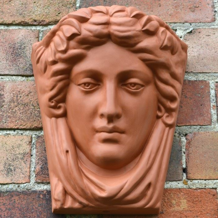 Goddess Terracotta Wallpot Terracotta Uk Com Hand Made