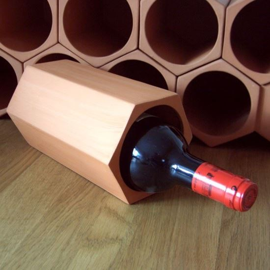 Picture of Terracotta Wine Rack Units