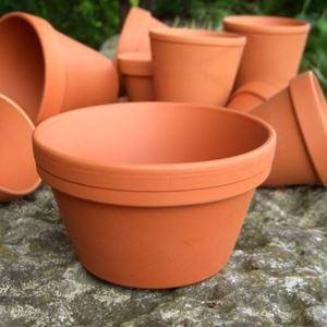 Picture of Half Flower Pot | 13cm x 7.5cm