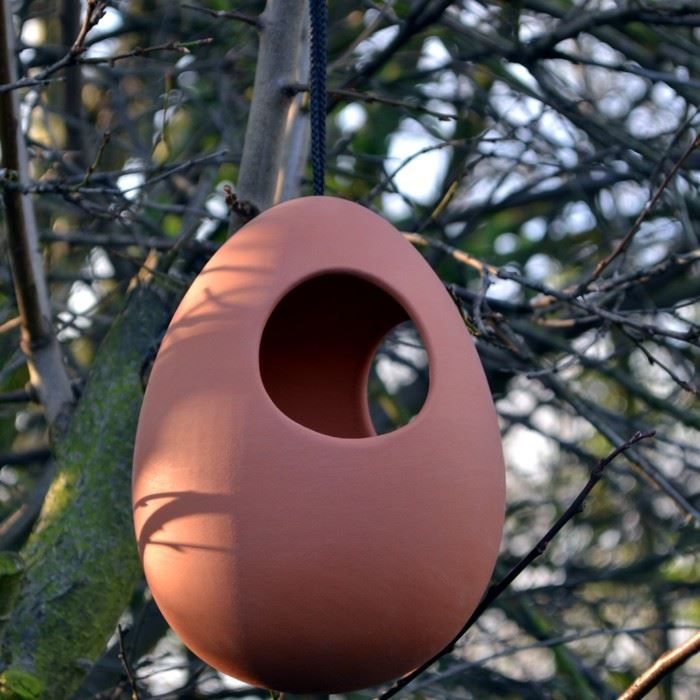 Hanging Bird Feeder Terracotta Uk Com Hand Made Uk