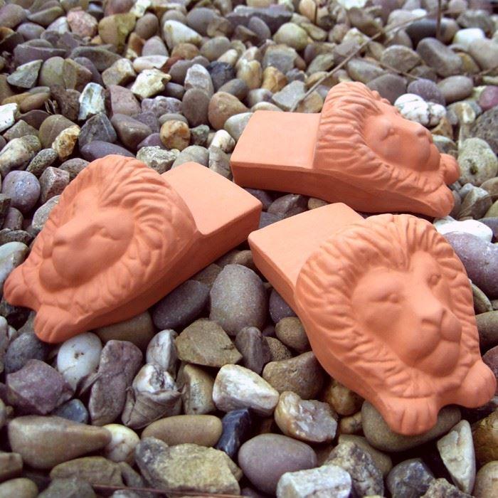 Lion S Head Pot Feet Terracotta Uk Com Hand Made Uk