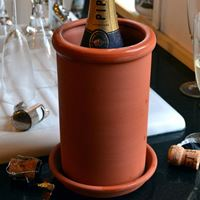 Picture of Round Terracotta Wine Cooler