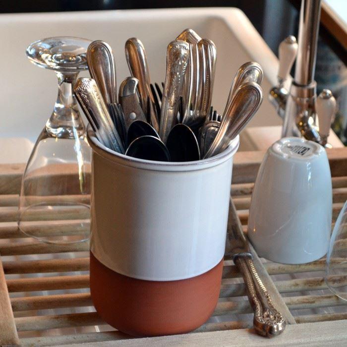 Cutlery Drainer Pot Terracotta Uk Com The Home Of Uk