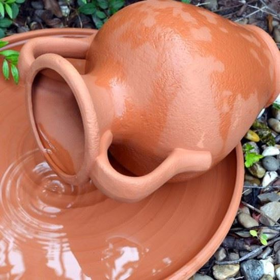 Picture of Water Feature Pot - Terracotta Amphora