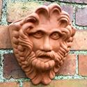 Picture of Bacchus Terracotta Wall pot